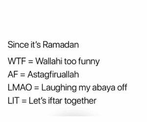 fun, Ramadan, and sarcasme image