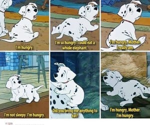 funny, disney, and 101 dalmatians image