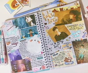 diary, drawing, and kpop image