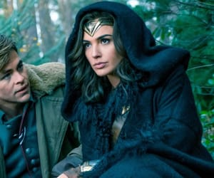 wonder woman, diana prince, and steve trevor image