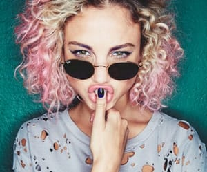 colores, curly, and hair image