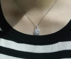 Pave, pendant, and cz image