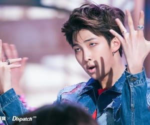 rm, bts, and fakelove image
