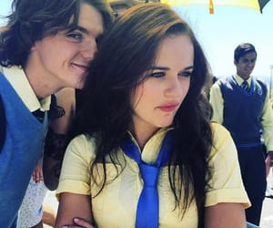joey king, joel courtney, and the kissing booth image
