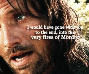 aragorn, fire, and gif image