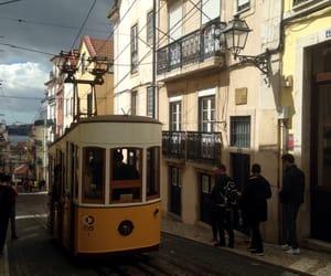 lisbon, street, and walk image