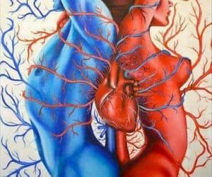 amor, art, and woman image