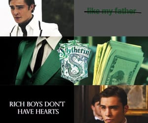 aesthetic, chuck bass, and slytherin image