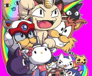 cats and anime image
