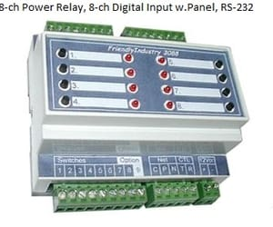usb relay control and rs232 relay control image