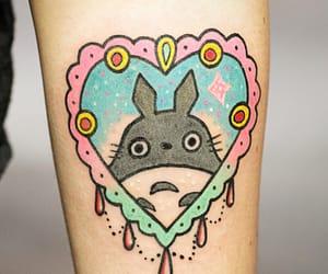 tattoo, kawaii, and heart image