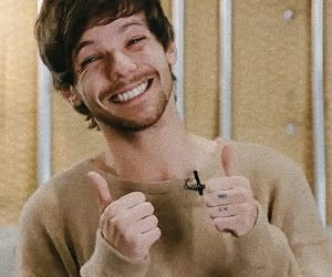 louis, singer, and smile image