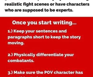 fight scene and writing tips image