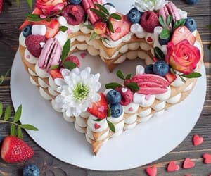 cake, yummy, and delicious image