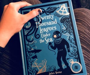20000 leagues under the sea, bibliophile, and bookish image