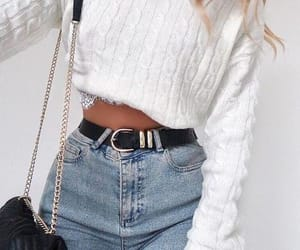 belt, ideas, and jeans image
