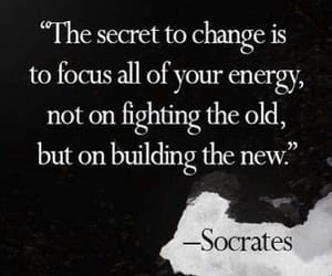 quotes, socrates, and change image