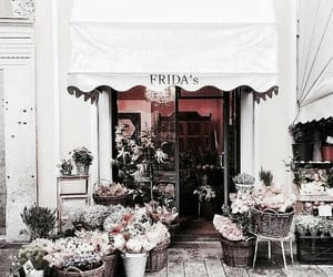 flowers and store image