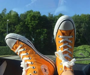car, converse, and girl image