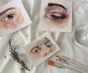 art, eyes, and aesthetic image