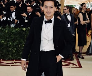 cole sprouse, riverdale, and met gala image