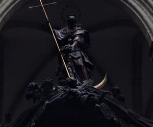 black, honor, and saint image