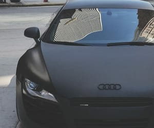 car, audi, and black image