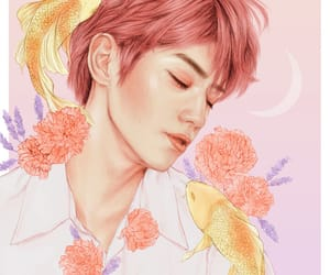 fanart, flowers, and taeyong image