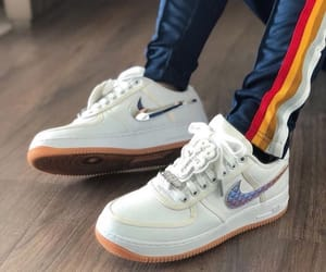 nike air force and travis scott image