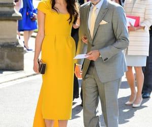 george clooney, royal wedding, and stella mccartney image