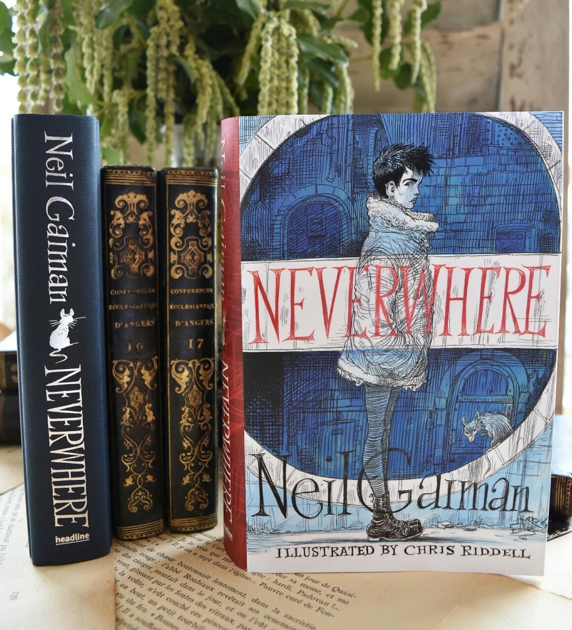 bibliophile, neverwhere, and bookaholic image