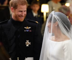 love, prince harry, and meghan markle image