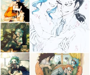 anime, happy, and gajeel image