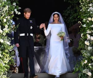 prince harry, meghan markle, and royal wedding image