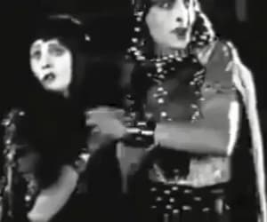 cleopatra, gif, and theda bara image