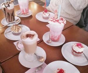 cupcake and milkshake image