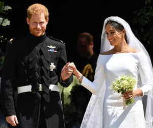 royal wedding, prince harry, and meghan markle image