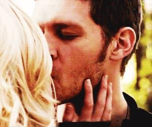 kiss, the vampire diaries, and klaus image