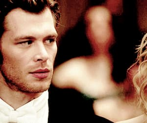 klaus, the vampire diaries, and caroline image