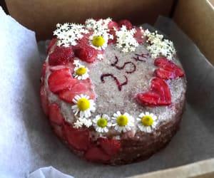 birthday, dessert, and heart image