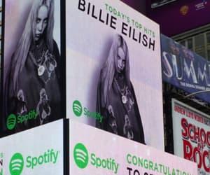 billboard, eilish, and billie image