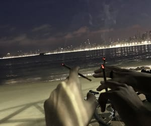 cigarrets, night, and salt image