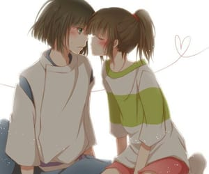 chihiro, anime, and couple image