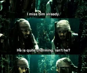 funny, jack sparrow, and pirates of the caribbean image
