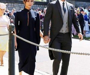 David Beckham, royal wedding, and victoria beckham image
