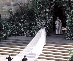 meghan markle, royal wedding, and wedding image