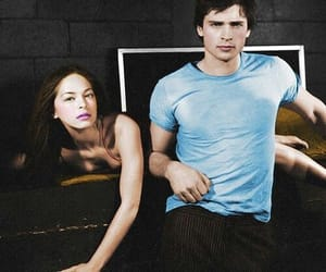 DC, kristin kreuk, and tom welling image