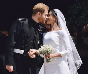 royal wedding, meghan markle, and love image