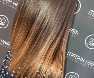 brownhair, straighthair, and meches image
