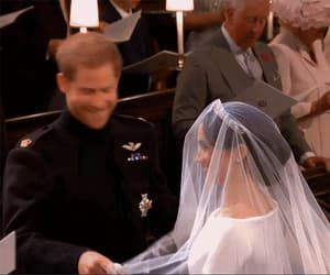 gif, royal wedding, and wedding image